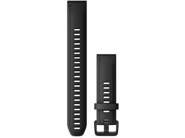 Garmin QuickFit Silicone Watch Band XL 20mm for Fenix 6S black